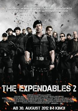 The Expendables 2 - Hauptplakat