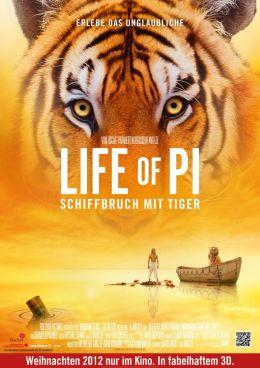 Life of Pi: Schiffbruch mit Tiger - Teaserplakat