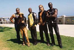 Biker Boyz: (von links nach rechts) Laurence...mWorks