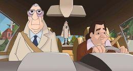 Derrick und Harry im Auto unterwegs  United...s GmbH