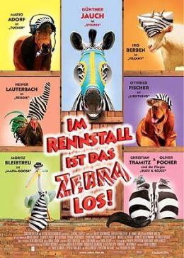 Im Rennstall ist das Zebra los!  2005 Constantin...ünchen