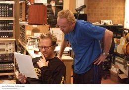 James Hetfield und Lars Ulrich im Studio  KINOSTAR...r GmbH