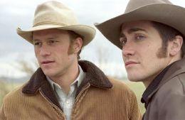 Heath Ledger, Jake Gyllenhaal Brokeback Moutain  TOBIS Film