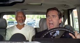Gott (MORGAN FREEMAN) und Evan Baxter (STEVE CARELL)