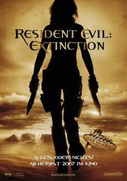 RESIDENT EVIL: EXTINCTION - Teaserplakat