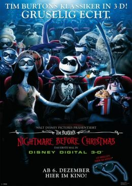 Nightmare before christmas in Disney 3D