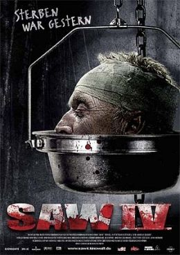 Saw IV - Filmposter