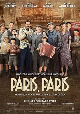 Paris Paris - Monsieur Pigoil auf dem Weg zum Gl  ck
