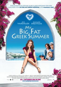 My Big Fat Greek Summer - Plakat