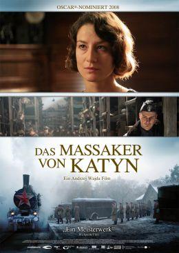 Das Massaker von Katyn - Plakat