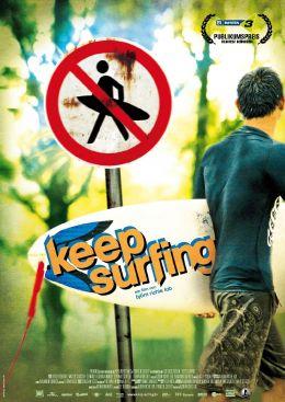 Keep Surfin' - Deutsches Kinoplakat