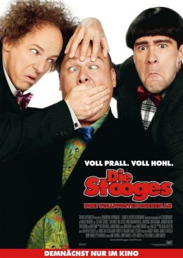 Die Stooges - Drei Vollpfosten drehen ab - Hauptplakat