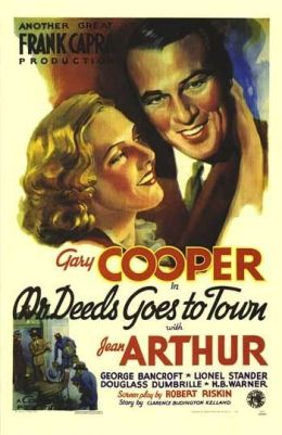 Mr. Deeds Goes to Town - US Plakat