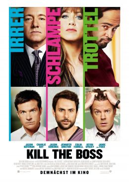 Kill the Boss - Hauptplakat