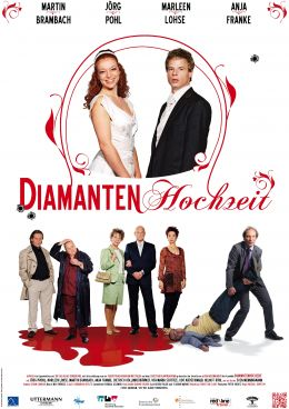 Diamantenhochzeit - Plakat