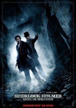 Sherlock Holmes: Spiel im Schatten - Hauptplakat