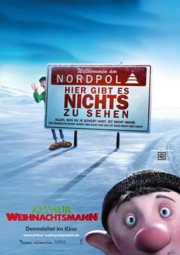 Teaser-Plakat - Arthur Weihnachtsmann