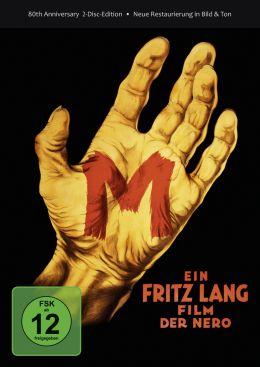 M - Eine Stadt sucht einen Mörder - DVD-Cover Deluxe...ition