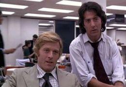 Robert Redford und Dustin Hoffman in 'Die...1976)