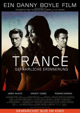 Trance - Gefährliche Erinnerung - Hauptplakat