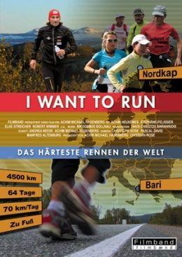 I want to run - Das härteste Rennen der Welt - Plakat