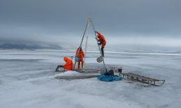 Geheimnis im sibirischen Eis