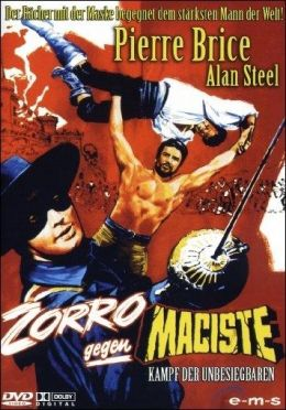 Zorro gegen Maciste - Kampf der Unbesiegbaren - Cover