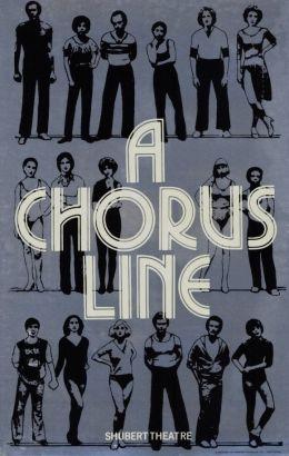 Poster - A Chorus Line