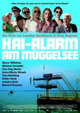 Hai-Alarm am Müggelsee - Hauptplakat