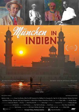 München in Indien - Plakat