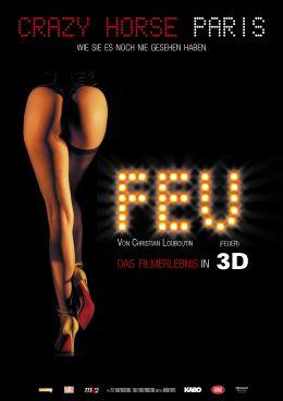FEU (FEUER) von Christian Louboutin - Plakat