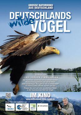 Deutschlands wilde Vögel - Plakat