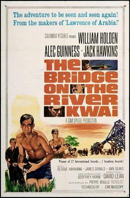 Die Brücke am Kwai - Poster