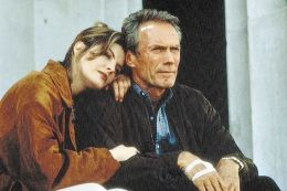 In the Line of Fire mit Rene Russo und Clint Eastwood