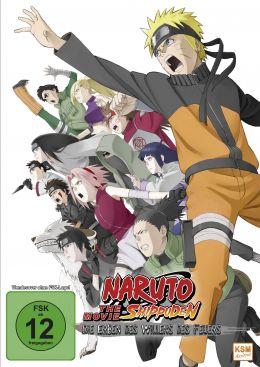 Naruto Shippuden - The Movie - Die Erben des Willens...euers