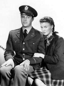 Der Major und das Mädchen mit Ray Milland und Ginger Rogers