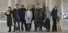 Dogs of Berlin - v.l.n.r. Hannah Herzsprung, Fahri...Sass.