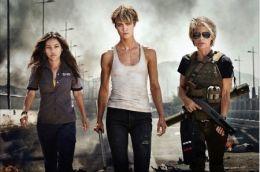 Terminator 6 - v.l.n.r.: Natalia Reyes als 'Dani...nnor'