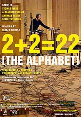 2+2 22  THE ALPHABET