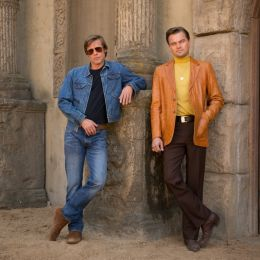 Once Upon a Time in Hollywood - Leonardo DiCaprio und...Pitt