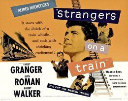 Der Fremde im Zug - Plakat