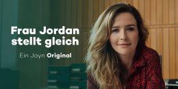 Frau Jordan stellt gleich