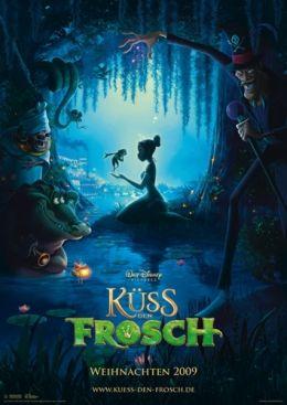 Küss den Frosch - Plakat