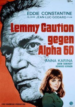 Poster - Lemmy Caution gegen Alpha 60