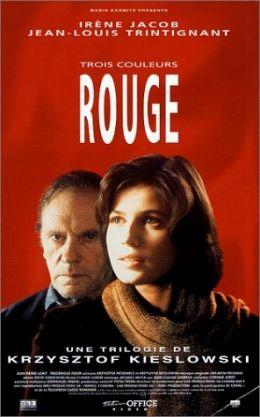 Drei Farben - Rot - Französisches Poster