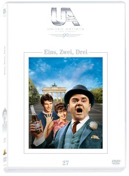 Eins, zwei, drei - DVD-Cover - United Artists Edition