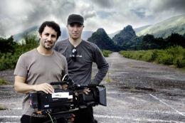 Marc Eberle und Kameramann Richard Ladkani - Amerikas...Laos